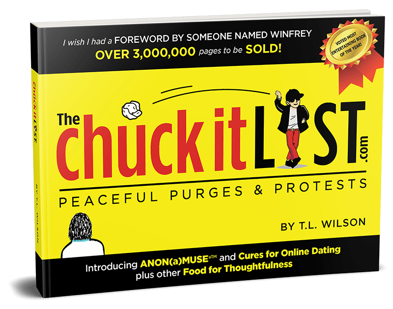chuck it list book cover